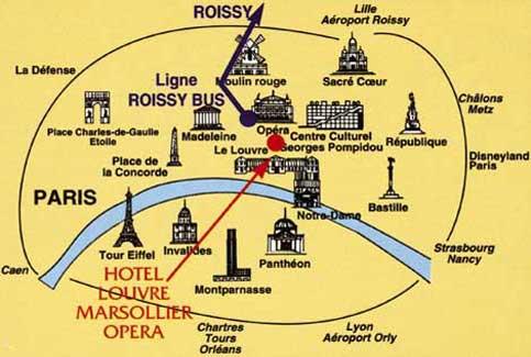Hotel Zona Opera Parigi