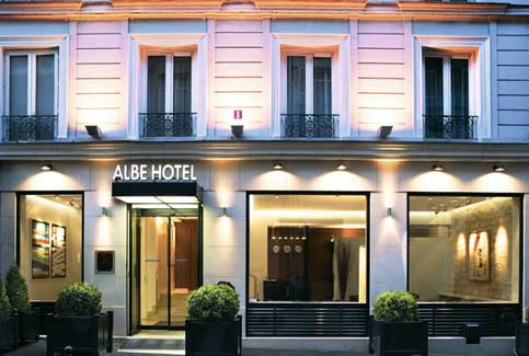 paris hotel albe