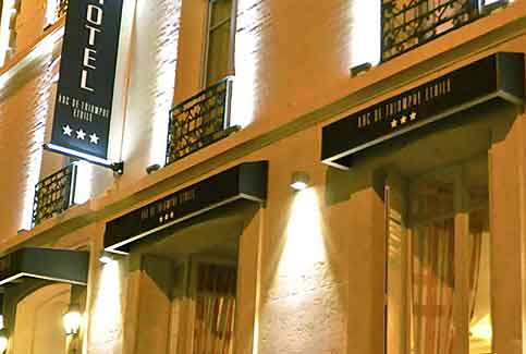 Hotel arc de triomphe etoile boutique hotel champs elysees - Hotel arc de triomphe etoile ...