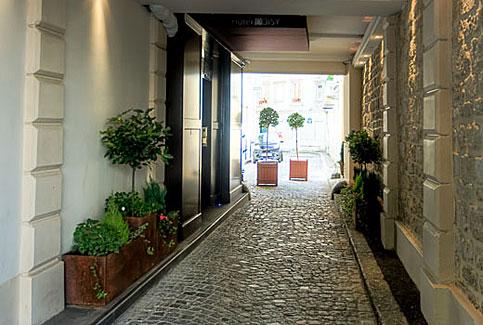 Hotel doisy etoile hotels paris paris hotel porte for Hotel porte maillot